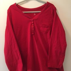 New In Package Red Roamans Shirt